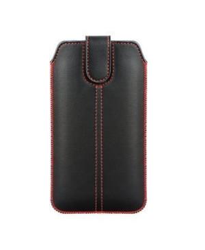 Univerzálne puzdro Forcell Pocket Ultra Slim M4 pre Apple iPhone X/XS čierne