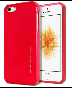 Silikónové puzdro na Samsung Galaxy A7 A750 2018 Mercury i-Jelly Metal červené