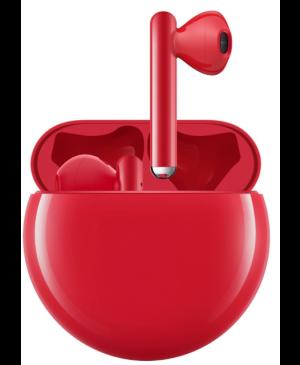 Bezdrôtové slúchadlá Huawei FreeBuds 3 červené