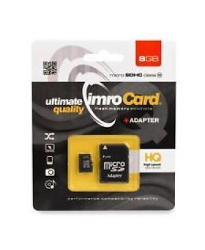Pamäťová karta Imro microSD (TransFlash) SD 8 GB s adaptérom