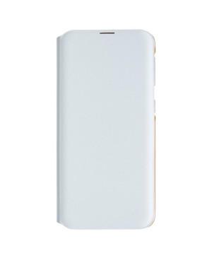Samsung flipové púzdro EF-WA202PW pre Samsung Galaxy A20e, biele