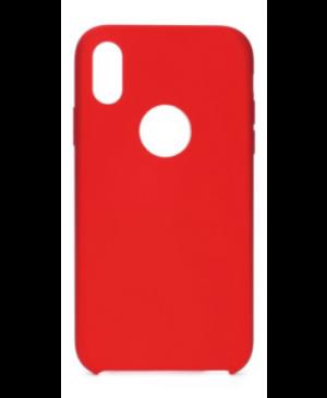 Silikónové puzdro Forcell Silicone pre iPhone 11 červené