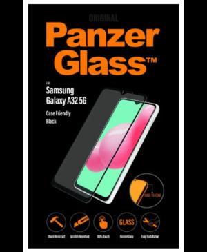 Ochranné sklo na Samsung Galaxy A32 5G PanzerGlass Friendly čierne