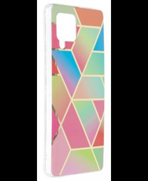 Silikónové puzdro na Samsung Galaxy A42 5G Forcell MARBLE COSMO vzor 04