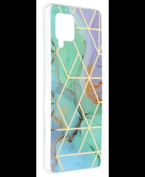 Silikónové puzdro na Samsung Galaxy A42 5G Forcell MARBLE COSMO vzor 03