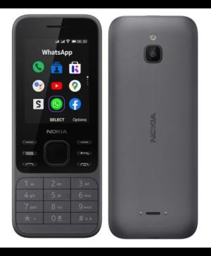 Nokia 6300 4G, 512 MB/4G, Dual SIM, Grey - SK distribúcia