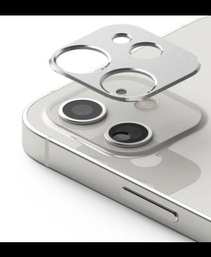 Tvrdené sklo na objektív Apple iPhone 12 Ringke Camera Styling strieborné
