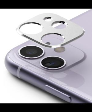 Tvrdené sklo na objektív Apple iPhone 11 Ringke Camera Styling strieborné
