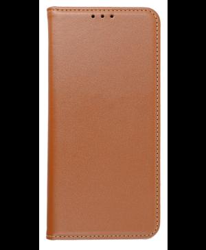 Diárové puzdro na Apple iPhone 12 Pro Max Leather Forcell Smart Pro hnedé