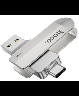 USB kľúč HOCO Wide UD10 USB + Typ C 128GB USB3.0