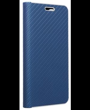 Diárové puzdro na Motorola Moto G 5G Plus Forcell Luna Carbon modré