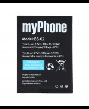 Batéria pre myPhone 1075 a HALO 2 BS-02, 900mAh