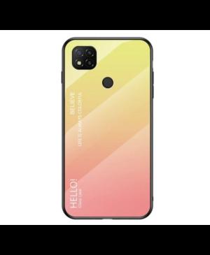 Silikónový obal na Xiaomi Redmi 9A Rainbow Glass ružové