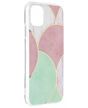 Silikónové puzdro na Apple iPhone 12/12 Pro Forcell MARBLE COSMO vzor 05