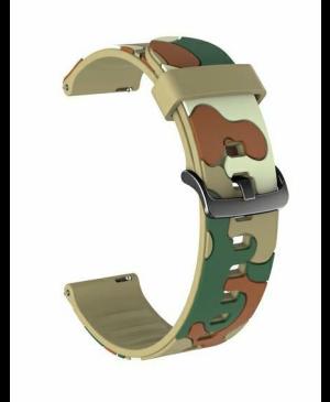 Univerzálny náramok Beline 22mm Camouflage vzor 7