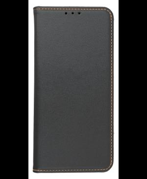 Diárové puzdro na Samsung S20 FE/S20 FE Leather Forcell Smart Pro čierne