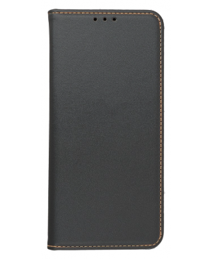 Diarové puzdro na Apple iPhone 12 Pro Max Leather Forcell Smart Pro čierne
