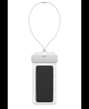 """Vodoodolné puzdro na mobil Baseus ACFSD-DG1 IPX8 7,2"""" biele"""