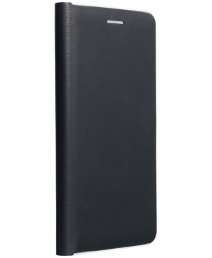 Diárové puzdro na Xiaomi Redmi Note 9T 5G Forcell Luna silver čierne