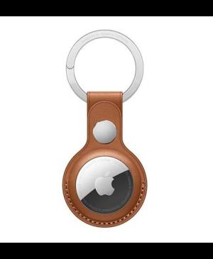 Kožená kľúčenka na Apple AirTag hnedá