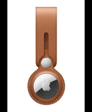 Slučka kožená pre Apple AirTag hnedá