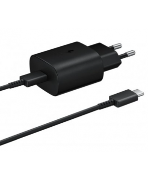 Nabíjačka Samsung USB-C EP-TA800EBE + EP-DG980BBE čierna (Bulk)