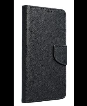 Diárové puzdro na Motorola Moto E7 Fancy Book čierne