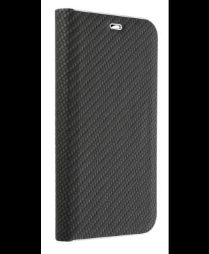 Diárové puzdro na Motorola Moto G 5G Plus Forcell Luna Carbon čierne