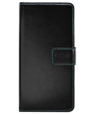 Diárové puzdro na Motorola Moto G8 Power Lite FIXED Opus čierne