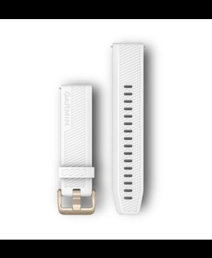 Náhradný remienok na Vivomove/ Forerunner 245 Garmin Quick Release 20 mm biely