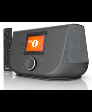 Digitálne a internetové rádio Hama DIR3300SBT, FM/DAB/DAB+/ovládanie aplikáciou, Bluetooth, čierny