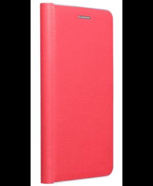 Diárové puzdro na Xiaomi Redmi Note 9T 5G Forcell Luna silver červené