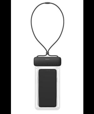 """Vodoodolné puzdro na mobil Baseus ACFSD-DG1 IPX8 7,2"""" čiernec"""