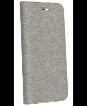 Diárové puzdro na Samsung Galaxy A32 5G Forcell Luna Gold strieborné
