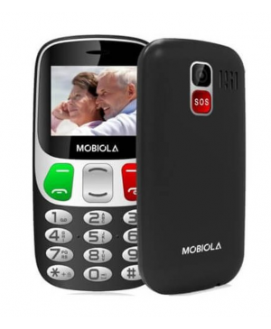 Mobiola MB800 Lite, Dual SIM, Black - SK distribúcia