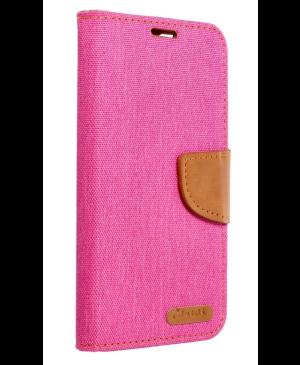 Diárové puzdro na Samsung Galaxy A32 A326 5G Canvas Book ružové