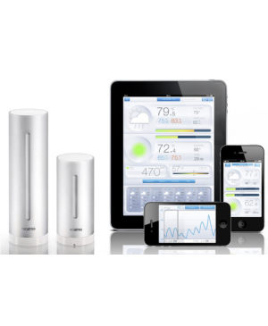 Netatmo Urban Meteostanica pŕe Android a iOS