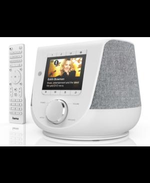 Digitálne a internetové rádio Hama DIR3200SBT, FM/DAB/DAB+/, Bluetooth, biele