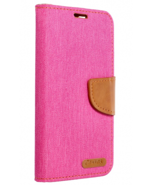 Diárové puzdro na Samsung Galaxy A50 Canvas tmavomodré