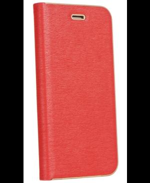 Diárové puzdro na Xiaomi Redmi Note 9T Luna gold červené