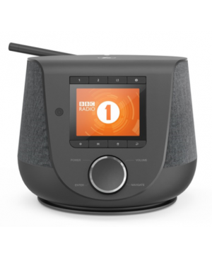 Digitálne a internetové rádio Hama DIR3200SBT, FM/DAB/DAB+/, Bluetooth, čierne