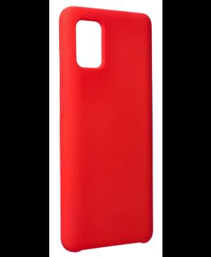 Silikónové puzdro na Samsung Galaxy A51/A51 5G Forcell Silicone červené