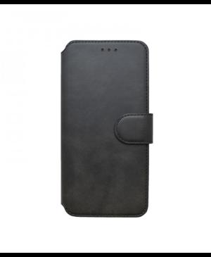 Diárové puzdro na Motorola Moto G8 čierne
