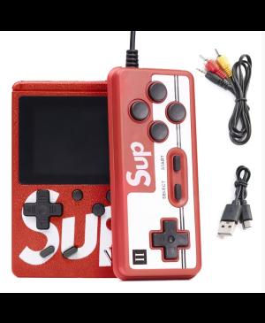 Herná konzola SUP 401 hier + ovládač červený