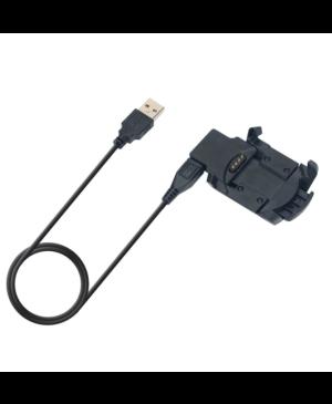 Nabíjací kábel na Garmin Fenix 3/3 HR Tactical USB čierny