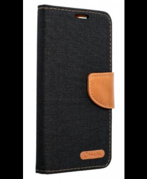 Diárové puzdro na Samsung Galaxy A71 Canvas čierne