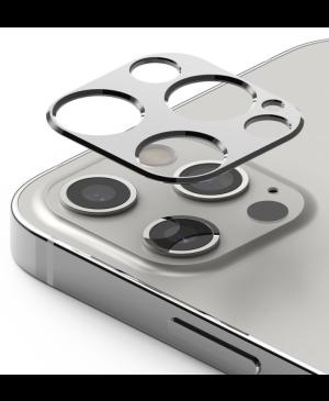 Tvrdené sklo na objektív Apple iPhone 12 Pro Max Ringke Camera Styling silver