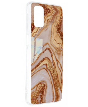Silikónové puzdro na Apple iPhone 11 Forcell MARBLE COSMO vzor 09