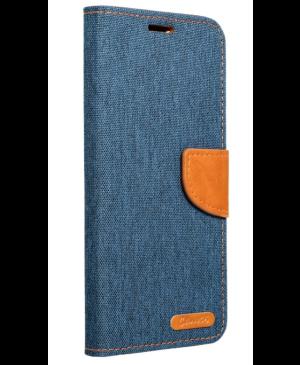 Diárové puzdro na Samsung Galaxy J5 2017 Canvas tmavo-modré