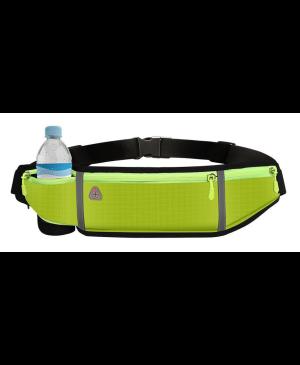 Puzdro na behanie Reflexné (kapsa,držiak na fľašu) - zelené